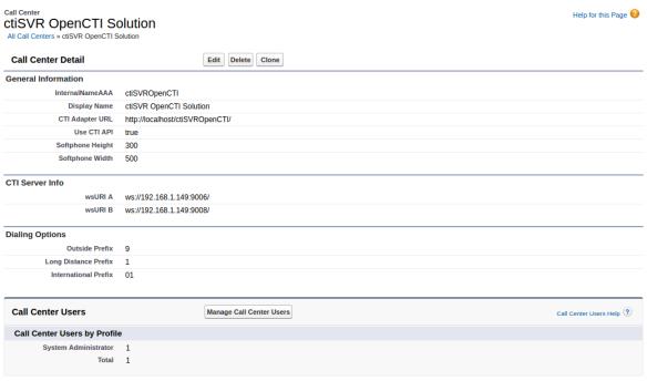ctiSVR Open CTI for Salesforce | UPINGET